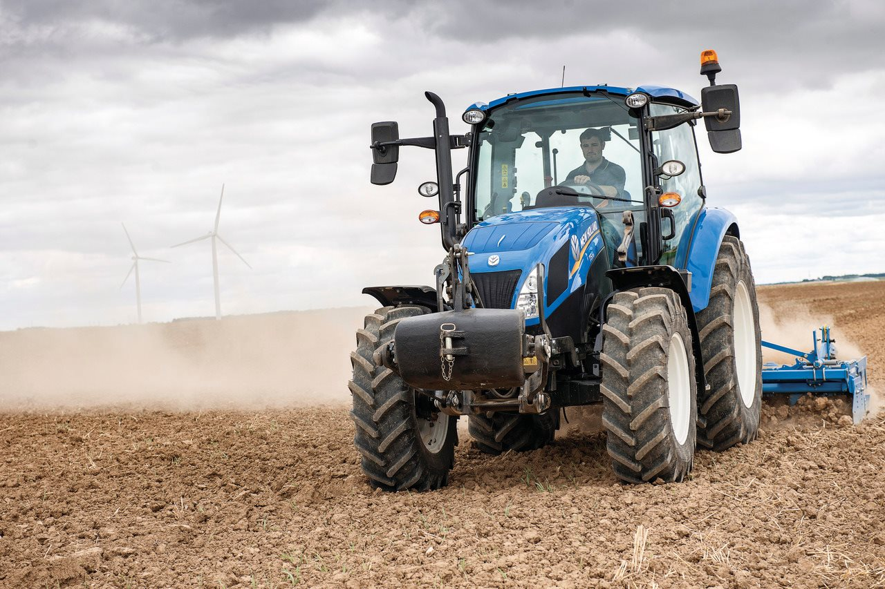 NEW HOLLAND T5 Utility Power Shuttle SERIES